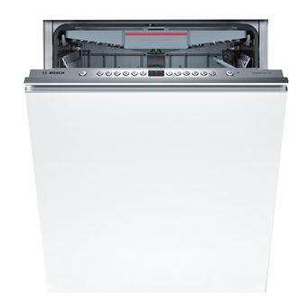 Máquina de Lavar Loiça Encastrável Bosch SMV46MX03E 14 conjuntos A++ Inox, Branco