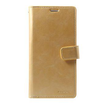 Capa Magunivers PU diário mansoor Dourado para Samsung Galaxy S10