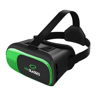 """Óculos Realidade Virtual Esperanza 3D VR Doom para Smarthone 3,5 """"""""-6"""