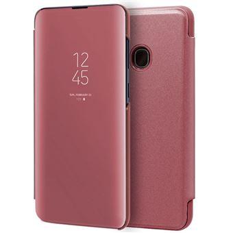 Capa Livro COOL para Samsung A202 Galaxy A20e Clear View Rosa