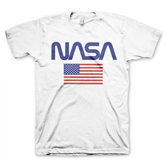 T-shirt NASA - Old Glory | Branco | S