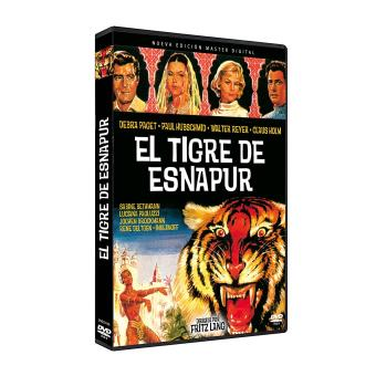 El tigre de Esnapur / Der Tiger von Eschnapur (DVD)