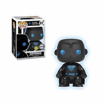 Funko Pop! DC Comics Justice League - Superman Silhouette Glow In The Dark Exclu Pop 10cm