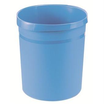 Caixote do Lixo HAN GRIP 18 l Redondo Polipropileno Azul