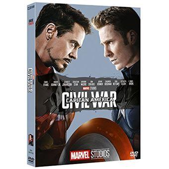 Capitán América: Civil War - Edición Coleccionista / Capitain America: Civil War (DVD)