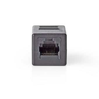 conector Nedis CCGB89010BK  RJ45 Black