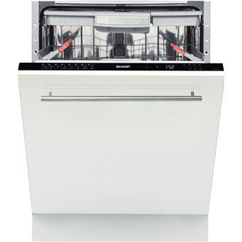 Máquina de Lavar Loiça Sharp Home Appliances QW-GD53I443X 15 espaços conjuntos A+++