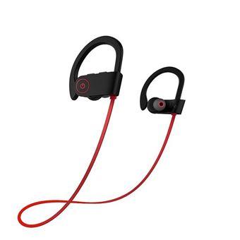 Auriculares Bluetooth wireless Arzopa U8 TWS Vermelho