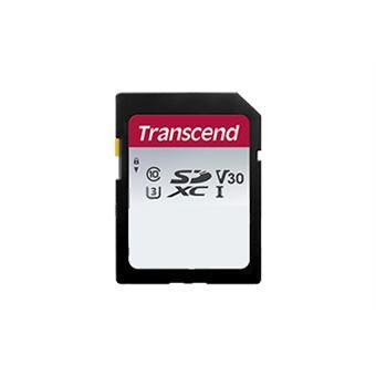 cartão de memória Transcend SDHC 300S 256GB  SD Cláss 10 NAND Preto