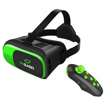 """Óculos VR Esperanza 3D para Smarthone 3,5 """"""""-6"""""""" com Comando Bluetooth"""