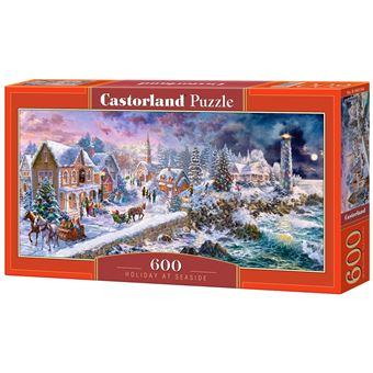 Puzzle Castorland Holiday at Seaside 600 pcs 600peça(s)