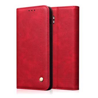 Capa Magunivers   TPU cavalo louco retrô Vermelho para Xiaomi Mi Note 10/Mi Note 10 Pro/Mi CC9 Pro