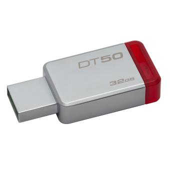 Pen USB Kingston Technology DataTraveler 50 32GB USB 3.0 (3.1 Gen 1) Type-A Vermelho, Prateado
