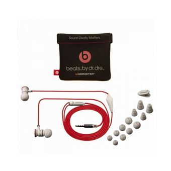 Auriculares Beats Monster Ibeats By Dr.Dre Com Comtroltalk Branco