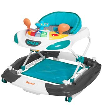 Andarilho Baninni para Bebés 2-em-1 'Rosco' BNBW004-TQGY Azul