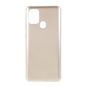Capa Magunivers e Tpu Pó de Flash Flexível Ouro para Samsung Galaxy A21S
