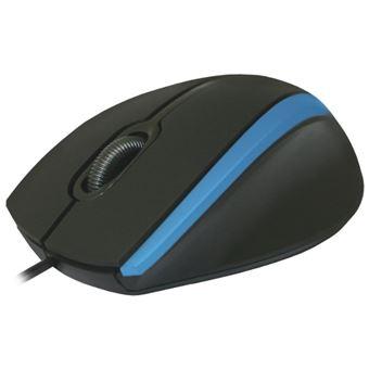 Rato com Fios Defender MM-340  Azul