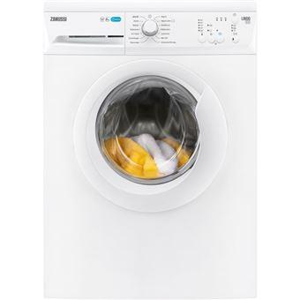 Máquina de Lavar Roupa Carga Frontal Zanussi ZWF81040W 8Kg A+++ Branco