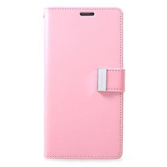 Capa Magunivers PU rico diário rosa para Samsung Galaxy S10