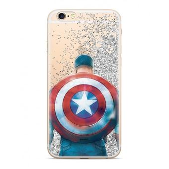 Capa LMobile Traseira Liquida Marvel para Apple Iphone 11