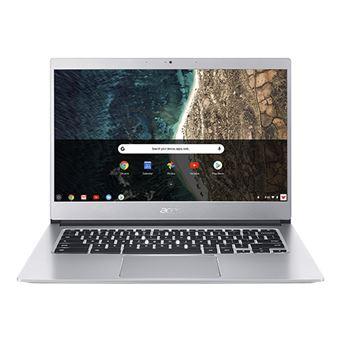 """Portátil Acer CB514-1H-P4WB N4200 64GB 14"""" Prateado"""