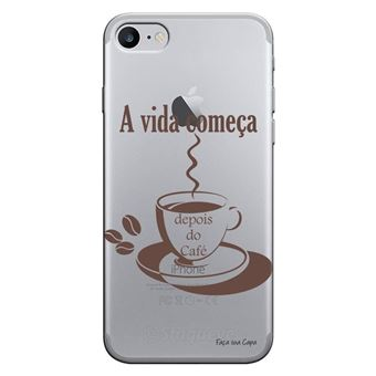 Capa Personalizada MakeUCase para iPhone 7 Café TP01