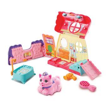 Salão de Beleza VTech Zoef Zoef Dieren Schoonheidssalon Brinquedo para Menina