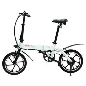 Bicicleta Elétrica SK8 Urban Beetle Branco