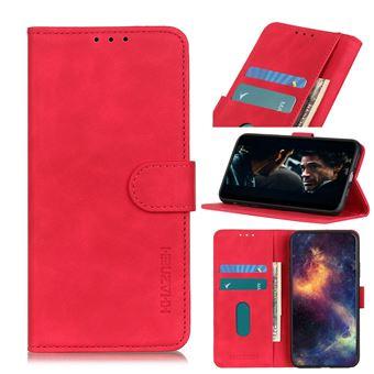 Capa Magunivers | PU + TPU estilo vintage Vermelho para Xiaomi Mi Note 10/Mi Note 10 Pro/Mi CC9 Pro
