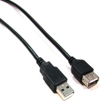 Cabo USB 2.0 BeMatik AM/AH de 1,8 m