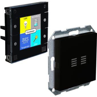 digitalSTROM u::lux AddOn RH+Temp transmissor de temperatura interior Preto