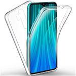 Capa 360° Impact Protection Phonecare para Xiaomi Redmi Note 8 Pro 3x1 Transparente