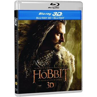 The Hobbit: The Desolation of Smaug (3D + 2D) / El Hobbit: La Desolación de Smaug (4Blu-ray)