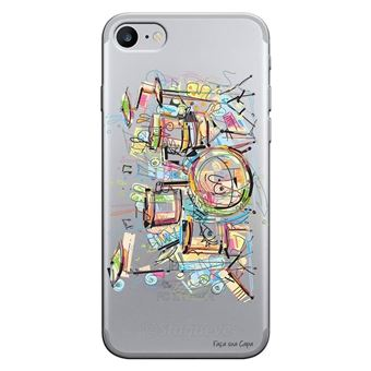 Capa Personalizada MakeUCase para iPhone 7 Bateria TP05