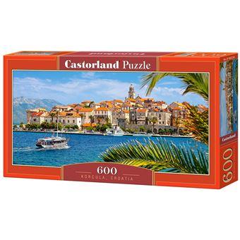 Puzzle Castorland Korcula, Croatia 600 Peças