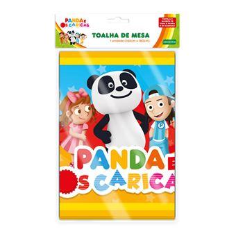 Toalha de Mesa Panda e Caricas