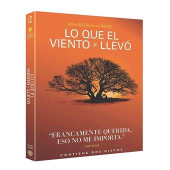 Lo Que El Viento Se Llevo Blu-Ray- Iconic (Blu-ray)
