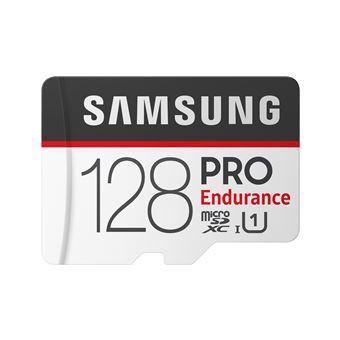 MicroSDXC Samsung 128 GB Pro Endurance