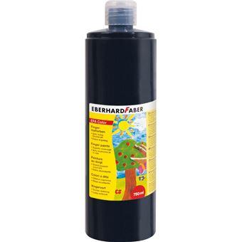 Tinta lavável para pintar com dedos eberhard faber efacolor preto