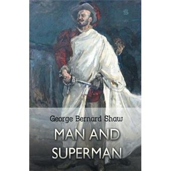man And Superman Paperback -
