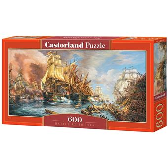 Puzzle Castorland Battle at the Sea 600 Peças