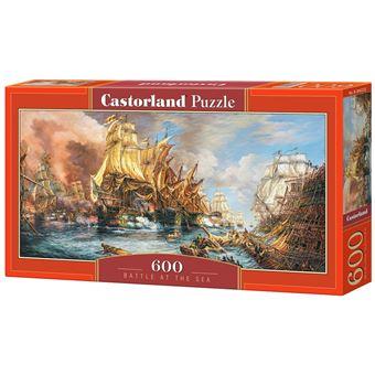 Puzzle Castorland Battle at the Sea 600 Peças