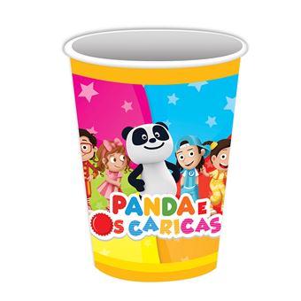 Copos Panda e Caricas | 8 Peças