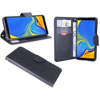 Capa Lmobile Flip Carteira / Livro Fancy Samsung Galaxy A50 Preto