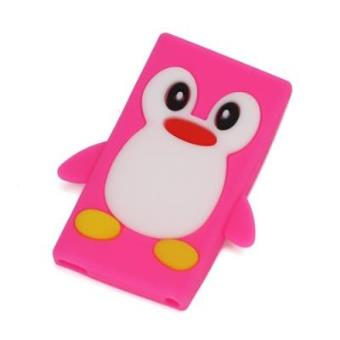 IMOTIC - Capa Silicone para Apple iPod Nano 7 Rosa Pinguim ...