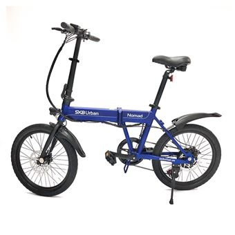 Bicicleta Elétrica SK8 Urban Nomad Azul