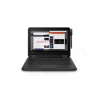 """Portátil Híbrido Lenovo 300e N3450 4GB 11.6"""" Preto"""