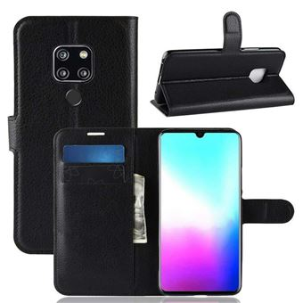 Capa Carteira Tipo Livro Wallet Multi4you para Huawei Mate 20 X - Preto