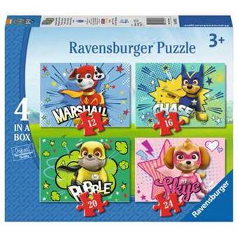 4 Puzzles Ravensburger Patrulha Pata