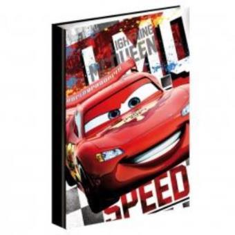 Dossier com Argolas A4 Cars Disney Speed